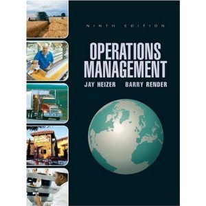 Operations Management 11th, Global Edition, Jay Heizer, Barry Render Test Bank