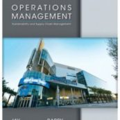 Operations Management by Heizer Edition